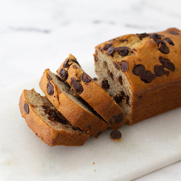 Banana Chocolate Chip Tea Bread