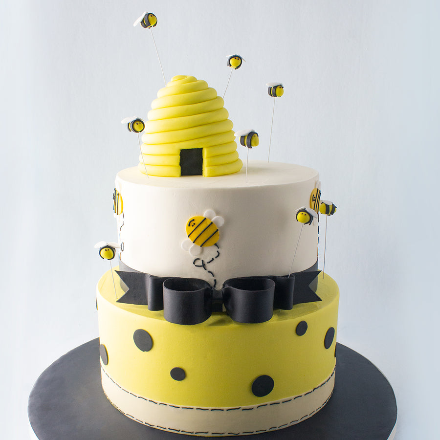Tiered Beehive Cake