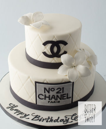 Tiered Chanel Cake