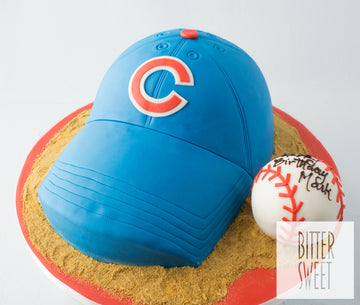 Cubs Hat Cake