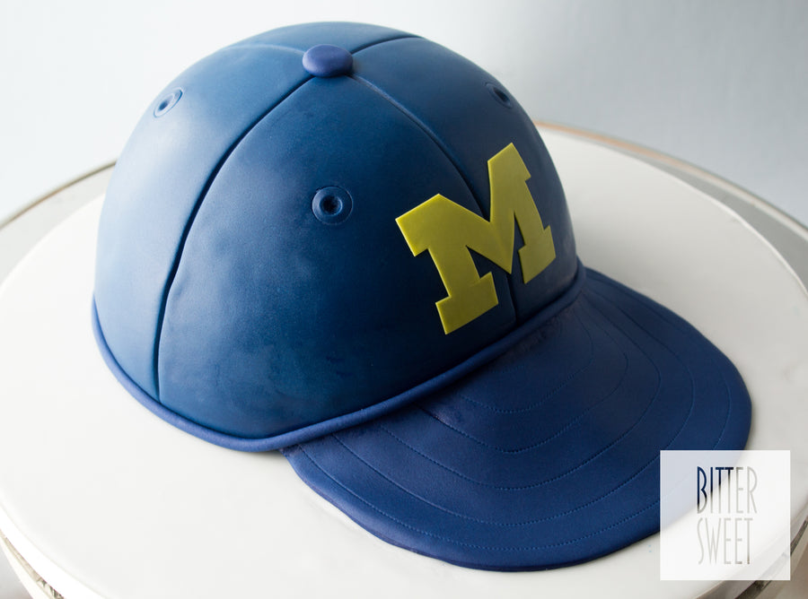 Michigan Hat Cake