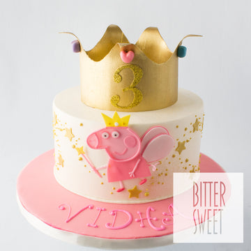Peppa the Fairy Princess Cake