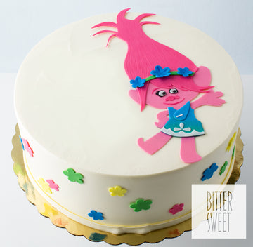 Poppy the Troll Cake