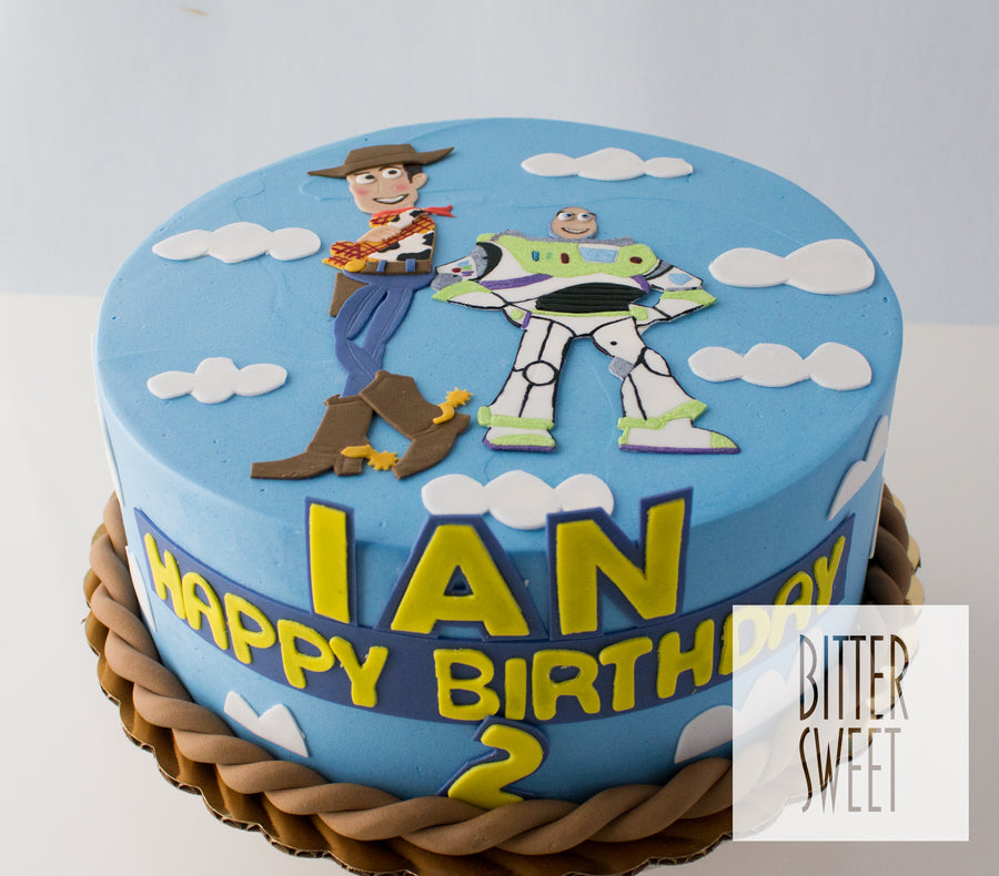 Prime Toy Story Cake Bittersweet Pastry Shop Personalised Birthday Cards Fashionlily Jamesorg