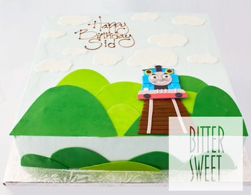 Thomas the Train - Square Cake