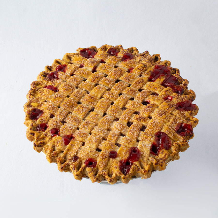 Door County Sour Cherry Pie