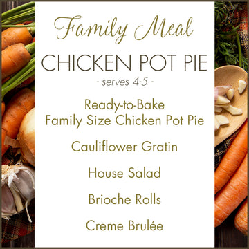 Bittersweet Family Meal: Chicken Pot Pie