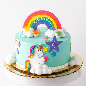 Dancing Unicorn Cake
