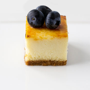 Vanilla Cheesecake Square