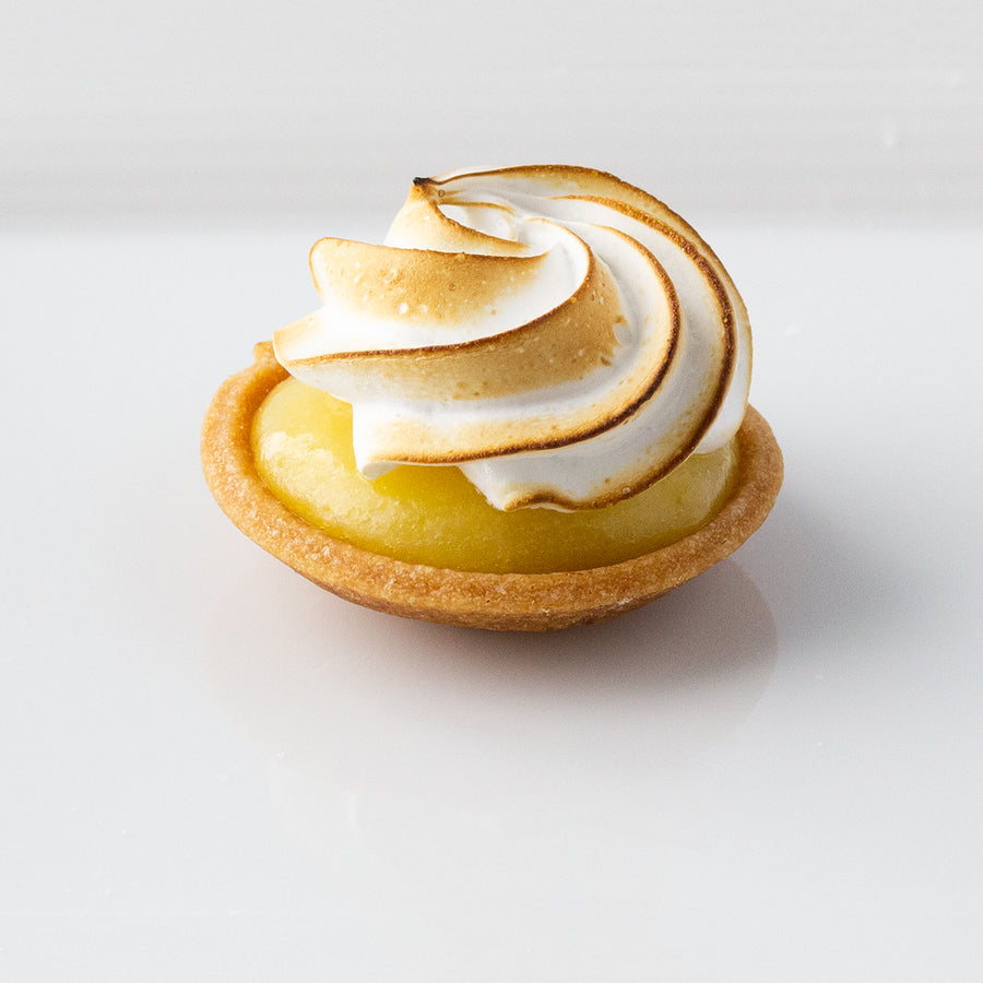 Lemon Meringue Bite Sized Tart