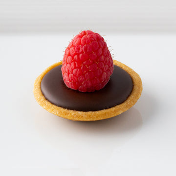 Raspberry Ganache Bite Sized Tart