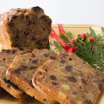 Bourbon & Brandy Fruit Cake