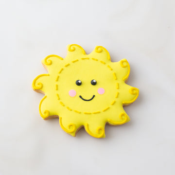 Happy Sun Cookie