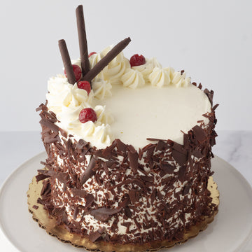 February Cake of the Month: Chocolate Covered Cherry