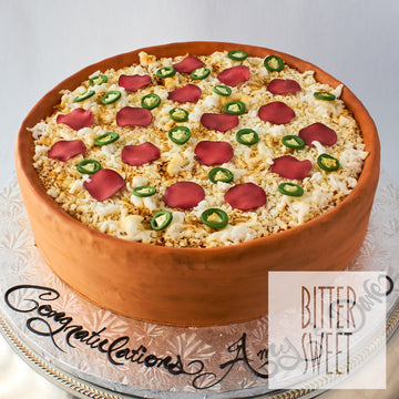Deep Dish Pizza Cake