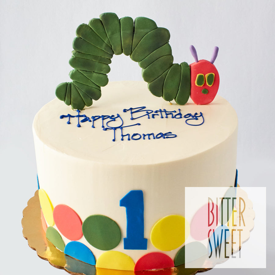 Hungry Caterpillar Cake