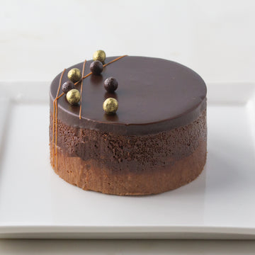 Individual Chocolate Peanut Butter Torte