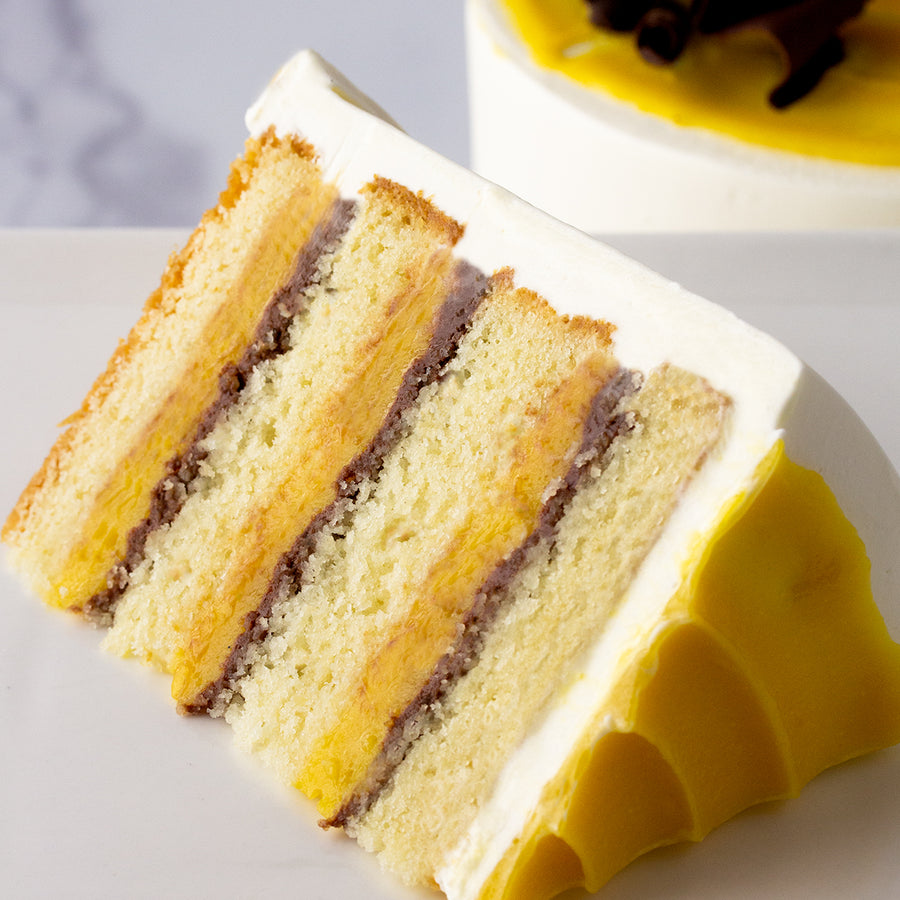 January Cake of the Month: Passion Fruit