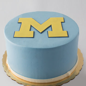 Michigan M Cake