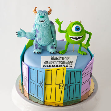 Monsters, Inc. Cake