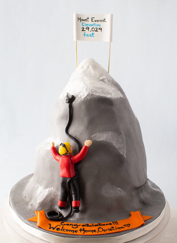 Mt. Everest Cake