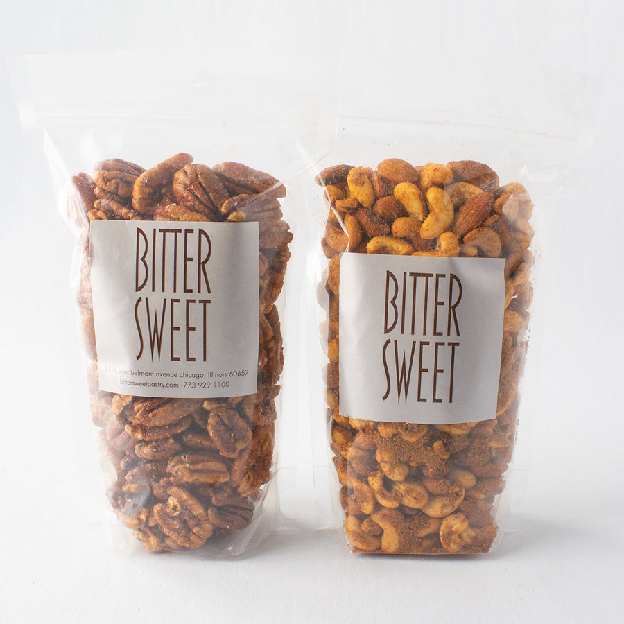 Spicy Nuts and Peppered Pecans Gift Set