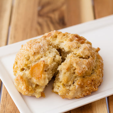 Peach Ginger Scone