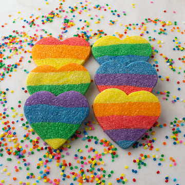 Rainbow Shortbread