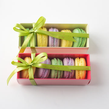 Five Piece French Macaron Box