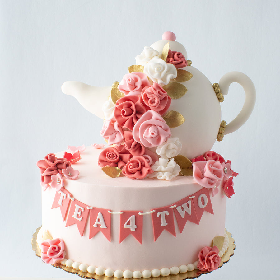 Tiered Teapot