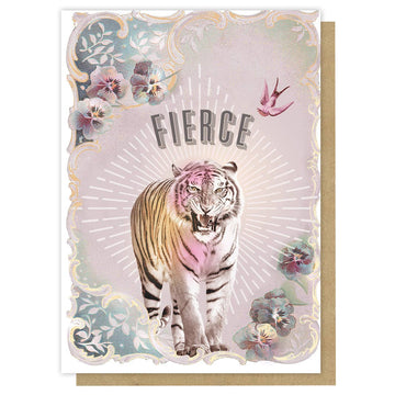 Fierce Tiger Card
