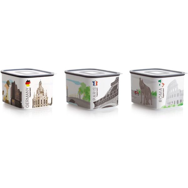Baseline Canister 1.3L - Cities Print