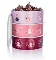 Round Baseline Cookie Canister 1.5L Winterjoy