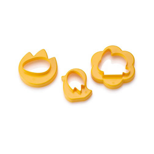 Cookie Cutters in Apricot
