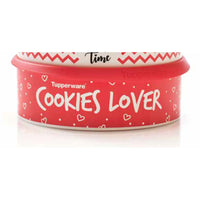 Cookie Canister Red Love Heart