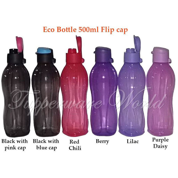 Eco Bottle 500ml Flip Cap