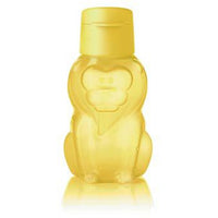 Eco Bottle Kids Lion Yellow