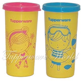 Kids Tumbler Set Yellow Blue-Pink