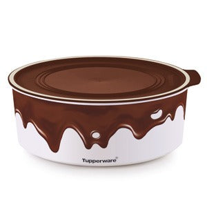 Round Baseline Canister 1.5L Chocolate