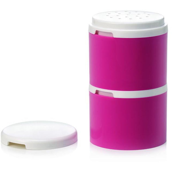 Salt & Pepper Tower in Pink/White