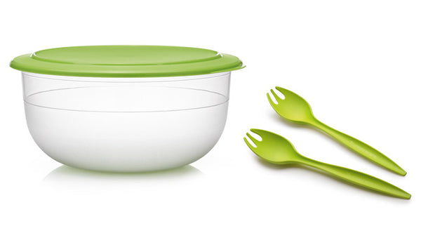Table Collection Serving Bowl + Tongs
