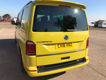 VW T6 and T6.1 Carbon Fibre Full Coverage Rear Bumper Protector - Tailgate Only