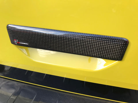 VW T6 Carbon Fibre Tailgate Handle Cover