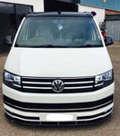 VW T6 Gloss Black GRP Front Splitter