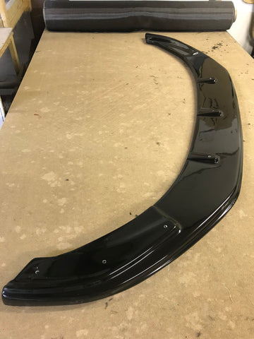 VW Caddy 2015 Onwards Gloss Black Front Splitter