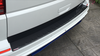 VW T6 and T6.1 Carbon Fibre Rear Bumper Protector With Raised Pattern - Tailgate Only
