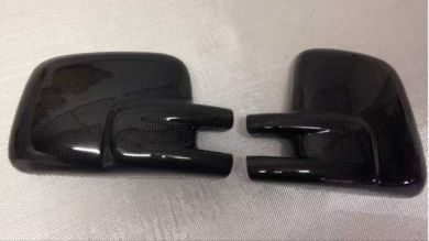 VW T4 Pair of Carbon Fibre Mirror Covers