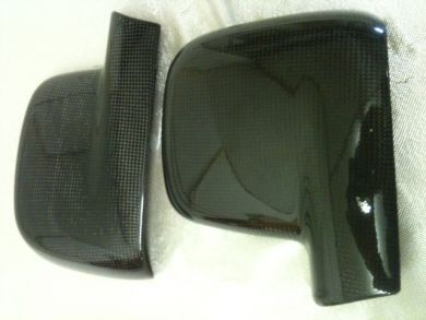 VW Caddy Carbon Fibre Mirror Covers