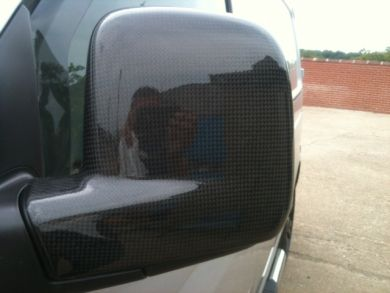 VW T5 Carbon Fibre Mirror Covers