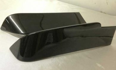 VW T5 Carbon Fibre Twin Door Rear Spoiler